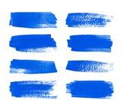 Σύνολο λωρίδων watercolor Στοκ φωτογραφία με δικαίωμα ελεύθερης χρήσης