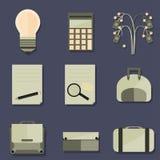 Σύνολο Business Objects Στοκ εικόνες με δικαίωμα ελεύθερης χρήσης