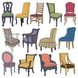 Σύνολο Chairs&armchairs απεικόνιση αποθεμάτων