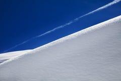 Άσπρος λόφος Στοκ φωτογραφία με δικαίωμα ελεύθερης χρήσης
