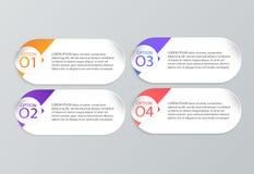 Σύνολο infographic προτύπων Στοκ Φωτογραφίες