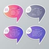 Σύνολο infographic προτύπων Στοκ Φωτογραφία