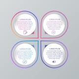 Σύνολο infographic προτύπων Στοκ φωτογραφίες με δικαίωμα ελεύθερης χρήσης