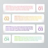 Σύνολο infographic προτύπων Στοκ Εικόνες