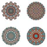 Σύνολο mandalas Διανυσματική συλλογή mandala για το σχέδιό σας Στοκ Φωτογραφία