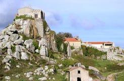 Σύνολο Sintra Peninha της ιστορίας Στοκ φωτογραφία με δικαίωμα ελεύθερης χρήσης