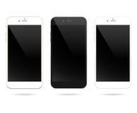 Σύνολο Smartphone Διανυσματική απεικόνιση