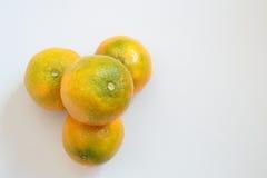 Σύνολο tangerines Στοκ Εικόνα