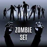Σύνολο Zombie ελεύθερη απεικόνιση δικαιώματος