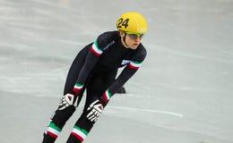 Σύντομες θερμότητες διαδρομής θερμοτήτων γυναικείου 1000 μ Στοκ φωτογραφίες με δικαίωμα ελεύθερης χρήσης