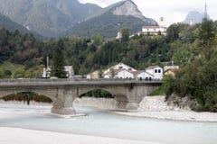 Σύντροφος ποταμών σε Moggio στοκ εικόνες