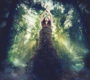 Σύνδεση μεταξύ της φύσης και του ανθρώπου στοκ φωτογραφίες