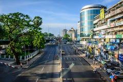Σύνδεση Hledan σε Yangon στοκ φωτογραφία με δικαίωμα ελεύθερης χρήσης