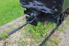 Σύνδεσμος του παλαιού φορτηγού άνθρακα Στοκ Εικόνες
