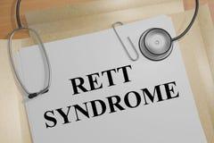 Σύνδρομο Rett - ιατρική έννοια ελεύθερη απεικόνιση δικαιώματος
