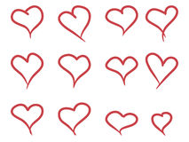 σύρετε την καρδιά χεριών στοκ φωτογραφία με δικαίωμα ελεύθερης χρήσης