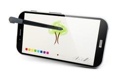 Σύρετε app Στοκ εικόνες με δικαίωμα ελεύθερης χρήσης