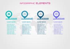 Σύριγγα έννοιας design infographic στοιχεία μερικά στοιχεία αυτής της εικόνας Στοκ Εικόνες