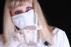 σύριγγα γιατρών στοκ φωτογραφίες με δικαίωμα ελεύθερης χρήσης