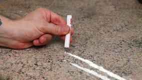 σύριγγα εστίασης φαρμάκων εθισμού κοκαΐνη γραμμές στοκ φωτογραφία με δικαίωμα ελεύθερης χρήσης
