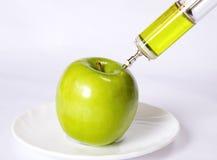 σύριγγα μήλων στοκ εικόνες