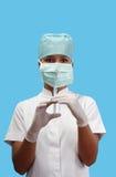 σύριγγα νοσοκόμων εκμετά& Στοκ φωτογραφίες με δικαίωμα ελεύθερης χρήσης