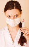 σύριγγα νοσοκόμων Στοκ Εικόνα
