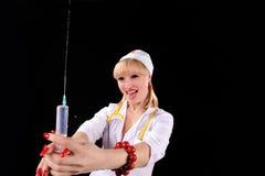 σύριγγα νοσοκόμων Στοκ φωτογραφία με δικαίωμα ελεύθερης χρήσης