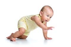 σύρσιμο μωρών αστείο Στοκ Εικόνα