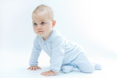 σύρσιμο μωρών Στοκ Εικόνα