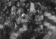 Σύστασης υποβάθρου grunge σκοτεινή νεράιδων δασική blac ταπετσαριών εγγράφου βουρτσών χρωμάτων τέχνης διακόσμηση τυπωμένων υλών σ στοκ φωτογραφία με δικαίωμα ελεύθερης χρήσης