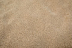 Σύσταση άμμου για το υπόβαθρο Τοπ όψη Στοκ φωτογραφία με δικαίωμα ελεύθερης χρήσης