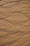 Σύσταση άμμου με τις αφηρημένες μορφές Στοκ φωτογραφία με δικαίωμα ελεύθερης χρήσης