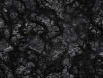 Σύσταση άνθρακα. μετά από την έκρηξη ηφαιστείων. λάβα που σταθεροποιείται Στοκ φωτογραφία με δικαίωμα ελεύθερης χρήσης