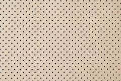 Σύσταση δέρματος με τις μικρές μαύρες τρύπες Στοκ φωτογραφία με δικαίωμα ελεύθερης χρήσης