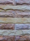 Σύσταση ή υπόβαθρο τούβλου χρώματος Στοκ εικόνα με δικαίωμα ελεύθερης χρήσης