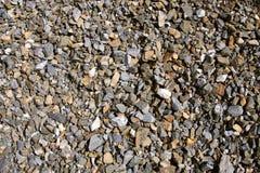 σύσταση αμμοχάλικου χρώμ&alph Στοκ φωτογραφία με δικαίωμα ελεύθερης χρήσης