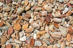 Σύσταση αμμοχάλικου Στοκ Φωτογραφίες