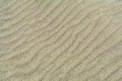 Σύσταση αμμόλοφων άμμου Στοκ Φωτογραφία