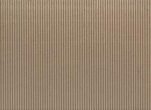 Σύσταση - ανοικτό καφέ ζαρωμένο χαρτόνι Στοκ εικόνες με δικαίωμα ελεύθερης χρήσης