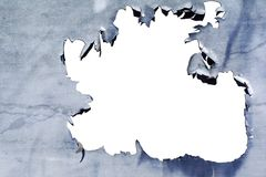 σύσταση αποφλοίωσης χρω&m Στοκ φωτογραφία με δικαίωμα ελεύθερης χρήσης