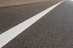 Σύσταση ασφάλτου με τις γραμμές χωρισμού, τοπ άποψη Στοκ φωτογραφία με δικαίωμα ελεύθερης χρήσης