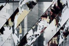 σύσταση αφισών που σχίζετ&al Στοκ Εικόνα