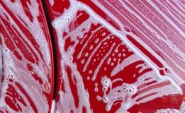 Σύσταση αφρού πλυσίματος αυτοκινήτων στοκ φωτογραφίες με δικαίωμα ελεύθερης χρήσης
