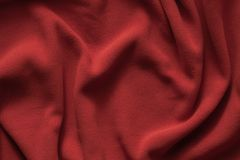 Σύσταση βαθιά - κόκκινο δέρας, τοπ άποψη στοκ εικόνες