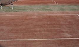 Σύσταση γηπέδων αντισφαίρισης Στοκ Εικόνα