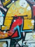 Σύσταση γκράφιτι Στοκ Εικόνες