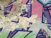 Σύσταση 02 γκράφιτι Στοκ Εικόνες