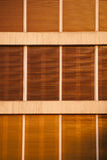 Σύσταση γριλληών παραθύρου από το εξωτερικό στοκ φωτογραφία