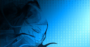 σύσταση δυαδικού κώδικα Στοκ φωτογραφίες με δικαίωμα ελεύθερης χρήσης